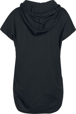 T-shirt En Jersey À Capuche Femme