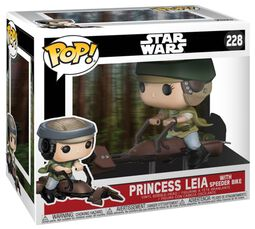 Princess Leia on a Speeder (kans op Chase) Vinylfiguur 228