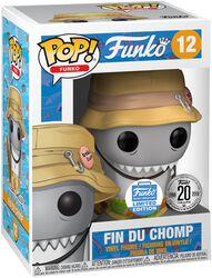 Fantastik Plastik Fin Du Chomp (Funko Shop Europe) Vinylfiguur 12