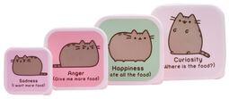 Snack Box Set of 4
