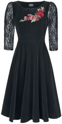 Robe Swing En Velours Divine