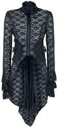 Black Lace Pirate Coat