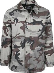 Veste À Imprimé Camouflage