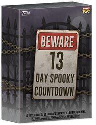 Beware 13 Day Spooky Halloween Countdown Calendar