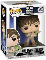Empire Strikes Back 40th Anniversary - Luke Skywalker & Yoda Vinylfiguur 363