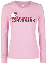Hello Kitty - T-shirt Ajusté À Manches Longues