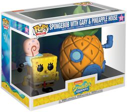 Spongebob with Gary and Pineapple House (Pop! Town) Vinylfiguur 02