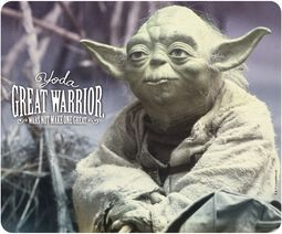 Yoda - Great Warrior Mouse Pad