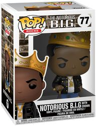 Notorious B.I.G. (With Crown) Rocks Vinylfiguur 77