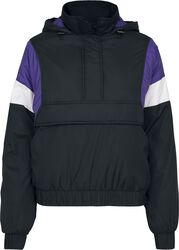 Ladies 3-Tone Padded Pullover Jacket