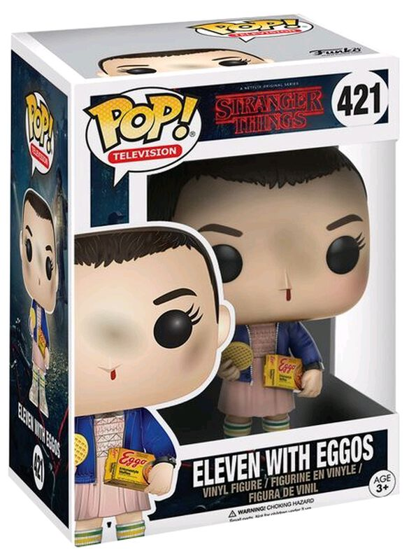 Eleven with Eggos (kans op Chase) Vinylfiguur 421