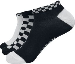 Sneaker Socks Checks 3-Pack