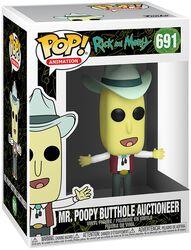 Season 4 - Mr. Poopy Butthole Auctioneer Vinylfiguur 691