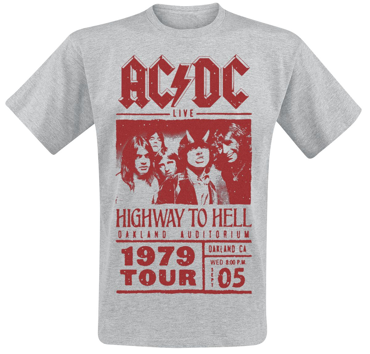 Highway To Hell Tour T Shirt