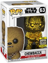 Star Wars Celebration 2019 - Chewbacca (Chrome) Vinylfiguur 63