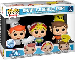 Kellogg's Cric, Crac & Croc - Rice Krispies (3 Pack) (Funko Shop Europe) - Funko Pop!