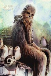 Chewbacca & Porgs