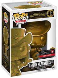 Figurine En Vinyle Lemmy Kilmister Rocks (Golden) 49