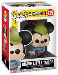 Mickey's 90th Anniversary - Brave Little Tailor Mickey Vinylfiguur 429