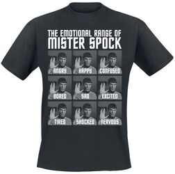 The Emotional Range Of Mister Spock
