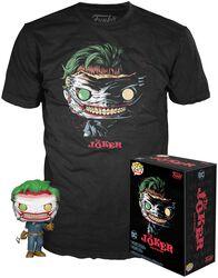 The Joker (DotF) (GITD) - T-Shirt + Funko - Pack Fan