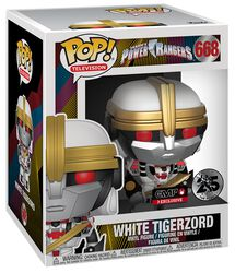 Power Rangers White Tigerzord (Oversized) Vinylfiguur 668