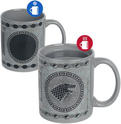 Maison Stark - Mug Thermoréactif