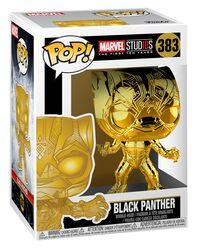 Marvel Studios 10 - Black Panther (Chrome) Vinylfiguur 383