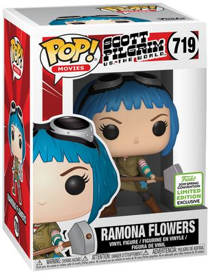 Scott Pilgrim vs. the World ECCC 2019 - Ramona Flowers (Funko Shop Europe) Vinylfiguur 719