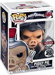 Power Rangers Pudgy Pig Vinylfiguur 664