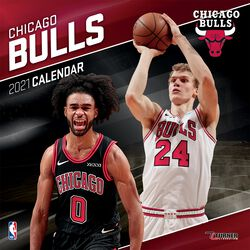 Chicago Bulls - Calendrier 2021