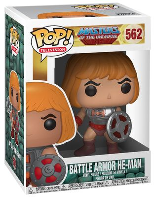 Battle Armor He-Man Vinylfiguur 562