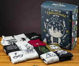Hogwarts Socks Christmas Advent Calendar 2020