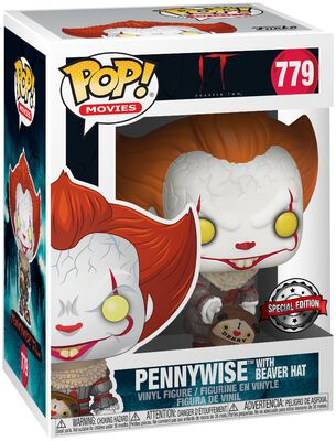 Chapter 2 - Pennywise with Beaver Hat Vinylfiguur 779