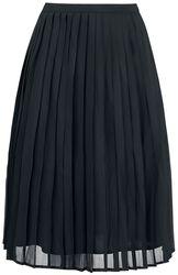 Marjorie Pleated Chiffon Ruffled Skirt