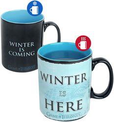 Winter is here - Heat Change Mug