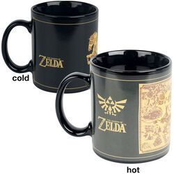 Carte - Mug Thermo-Réactif