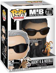 Agent K and Neeble Vinylfiguur 716
