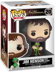Jim Henson with Kermit Vinylfiguur 20