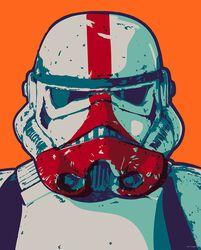 The Mandalorian - Pop Art Stormtrooper