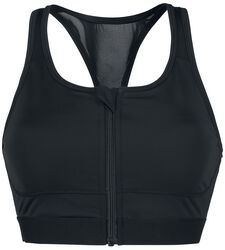 Ladies Tech Mesh Zipped Bra