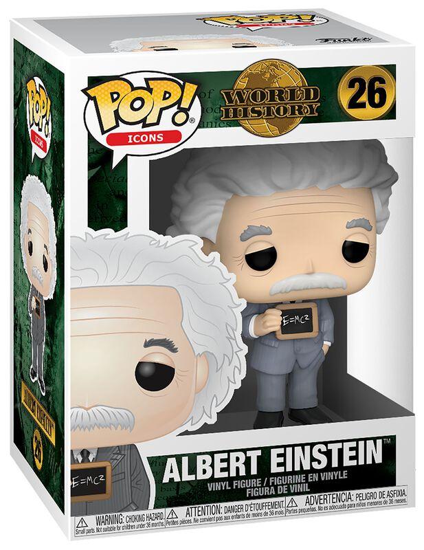 World History - Albert Einstein - Funko Pop! n°26