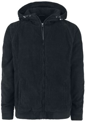 Hooded Corduroy Jacket