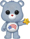 America Care Bear (Glitter) (Funko Shop Europe) Vinylfiguur 638