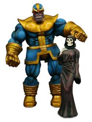 Figurine d'Action Marvel Select Thanos