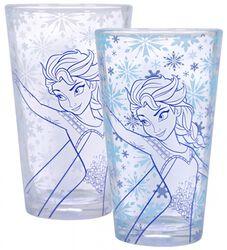 Frozen Elsa - Thermo glass