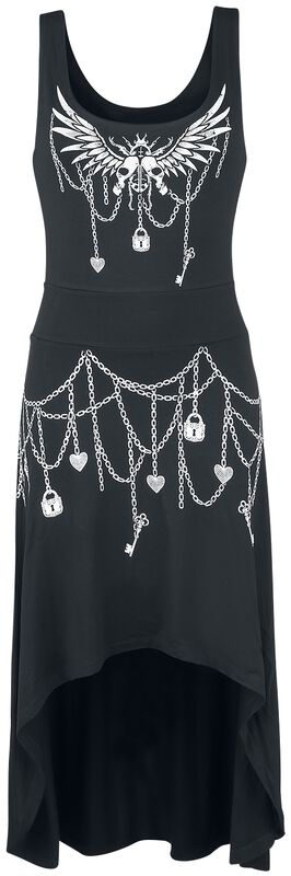 Hi Low Dress with Print