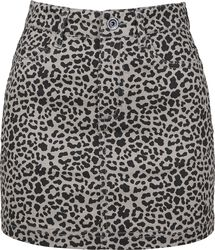 Ladies Leo Twill Mini Skirt