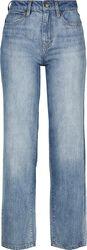 Jean Straight Taille Haute