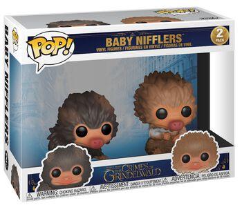 The Crimes of Grindelwald - Baby Nifflers 2-Pack Vinylfiguren